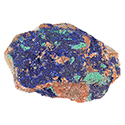 Azurite Malachite Druzy - Small