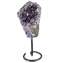 Uruguayan Amethyst Cluster on Stand