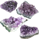 Natural Amethyst Cluster - Extra Small