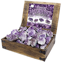 Natural Amethyst Display Package