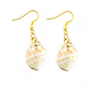 Conical Shell Earrings