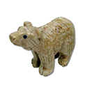 Carved Stone Bear