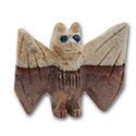 Carved Stone Bat