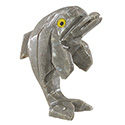 Carved Stone Dolphin