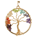 Chakra Tree Necklace