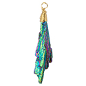 Rainbow Aura Kyanite Necklace - Gold