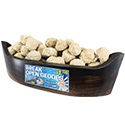 XS Break Open Geode Canoe Display Package