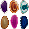 #4 B Quality Thin Agate Slice - Assorted