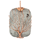Aura Rectangle, Wire Tree - Cord