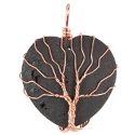 Aura Heart, Wire Tree - Cord