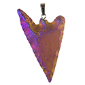 Aura Barbed Arrowhead Necklace - Gold