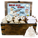 Break Open Geode Countertop Display