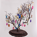 Manzanita Tree Display & 144 Agate Slice Ornament Package