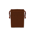 Brown Felt Bag - 2x3