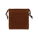 Brown Felt Bag - 3x3