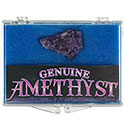 Amethyst Cluster Educational Box