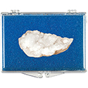 Quartz Crystal Cluster Educational Box