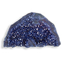 Extreme Amethyst Standing Druzy - Extra Large, Blue