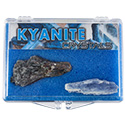 Kyanite Crystals Educational Box