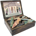 Jasper Spearheads in Wood Box Display Package