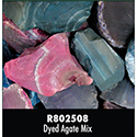 Rough Stone - Dyed Agate Mix 16PPP