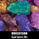 Rough Stone - Dyed Quartz Mix 18PPP
