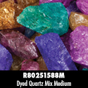 Rough Stone - Dyed Quartz Mix 38PPP